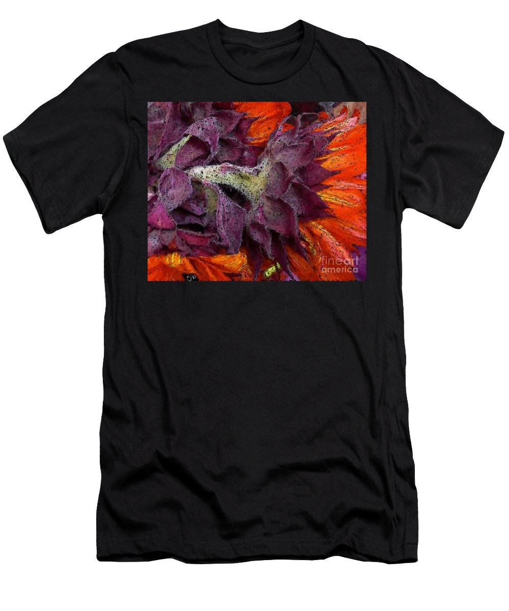 Flower T-Shirt featuring the photograph Store Flower by Ron Bissett