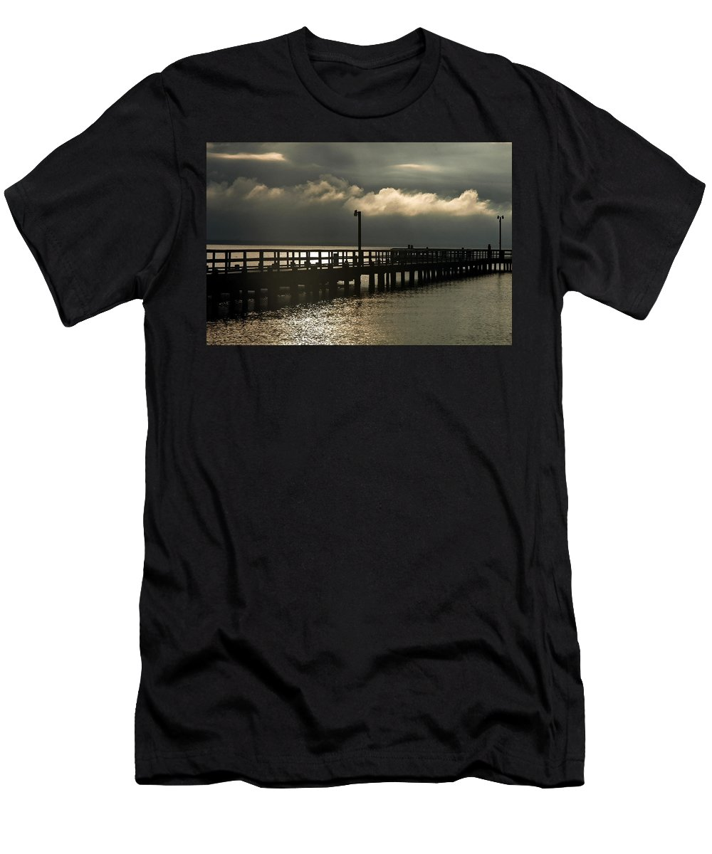 Clay Men's T-Shirt (Athletic Fit) featuring the photograph Storms Brewin' by Clayton Bruster