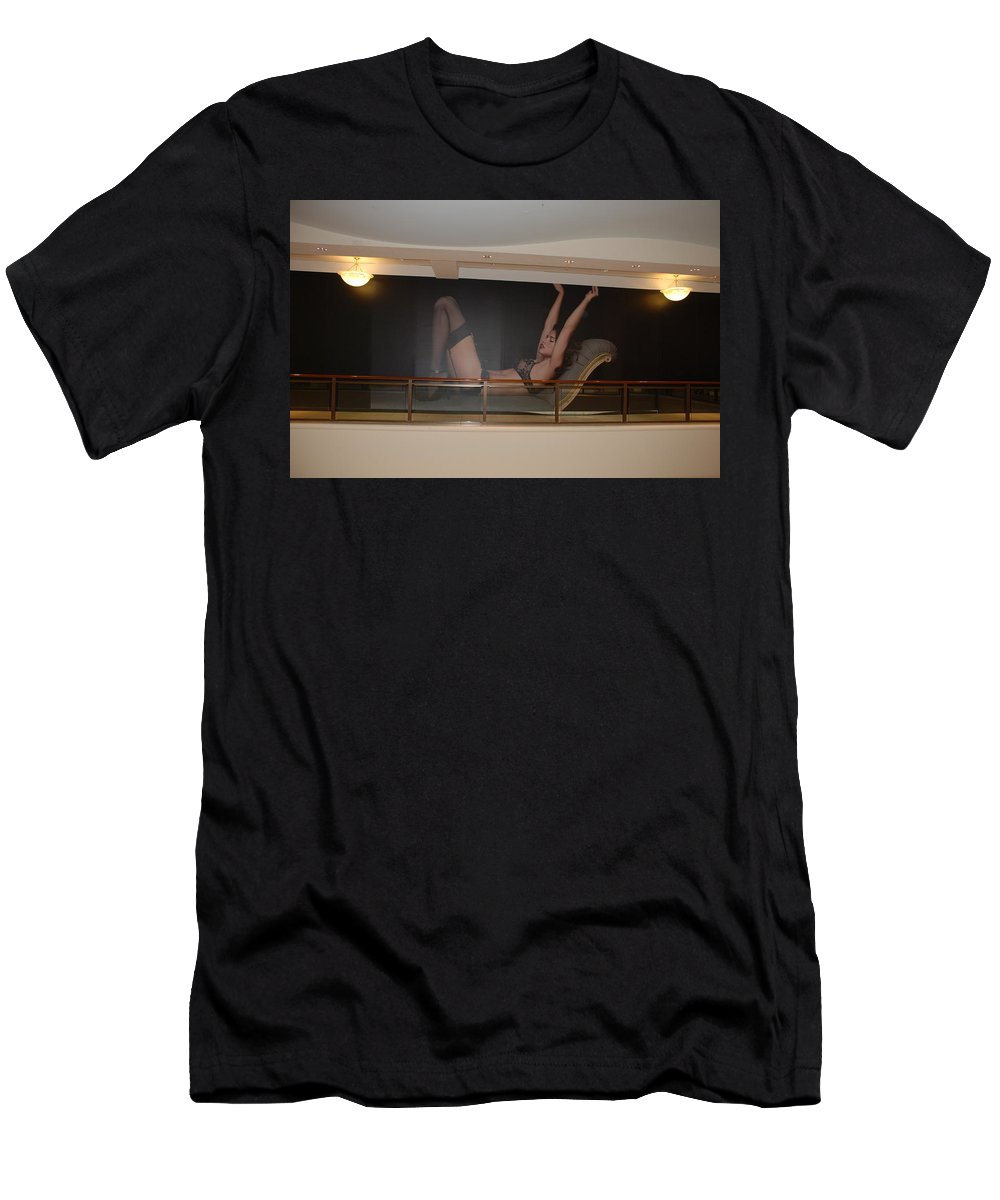 Sexy Men's T-Shirt (Athletic Fit) featuring the photograph Streeeeching by Rob Hans