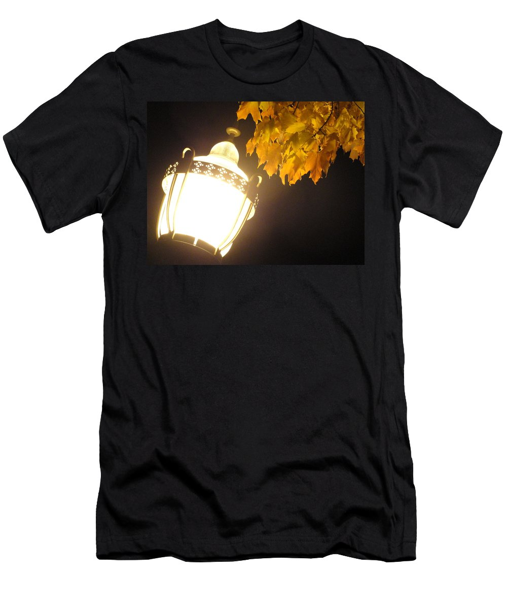 Men's T-Shirt (Athletic Fit) featuring the photograph Street Lamp by Trish Hale