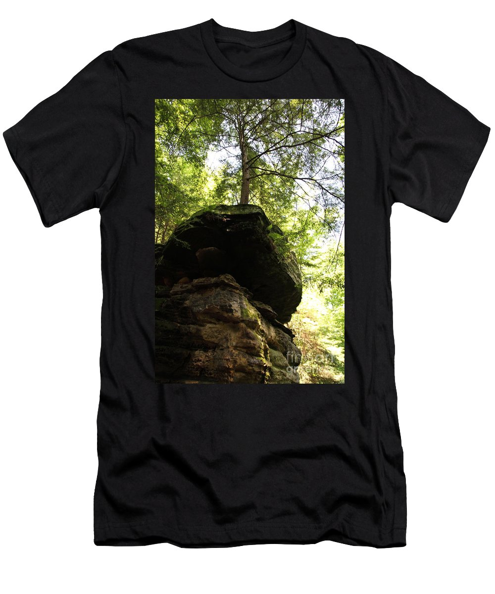 Tree Men's T-Shirt (Athletic Fit) featuring the photograph Strength by Amanda Barcon