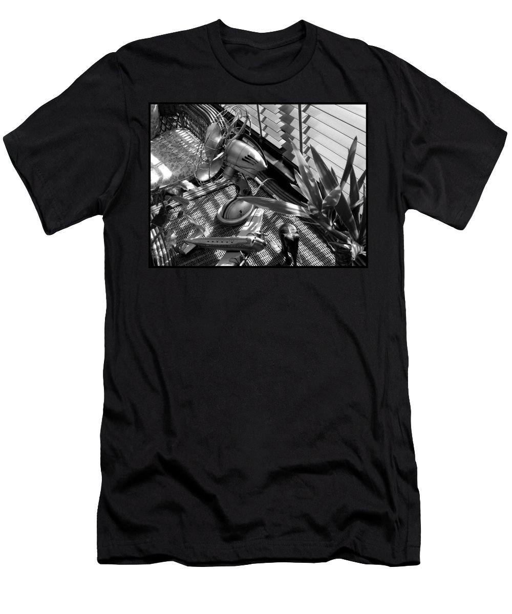 Still Life Men's T-Shirt (Athletic Fit) featuring the photograph Suburban Safari by Charles Stuart