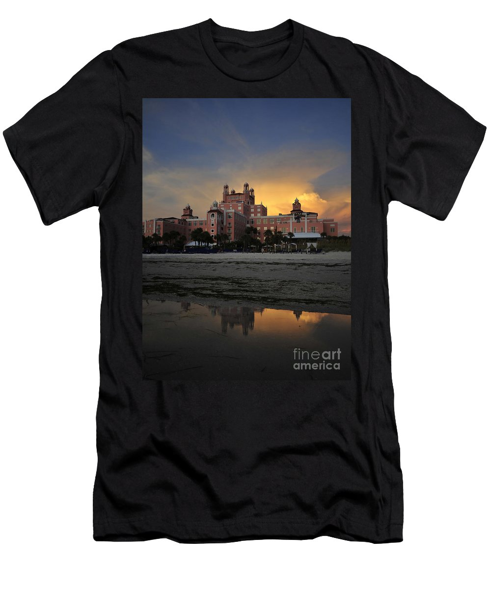 Fine Art Photography Men's T-Shirt (Athletic Fit) featuring the photograph Summer At The Don by David Lee Thompson