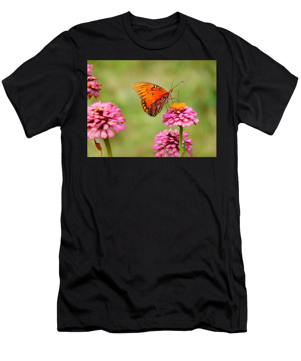 Summer Men's T-Shirt (Athletic Fit) featuring the photograph Summer Daze by Virginia Kay White