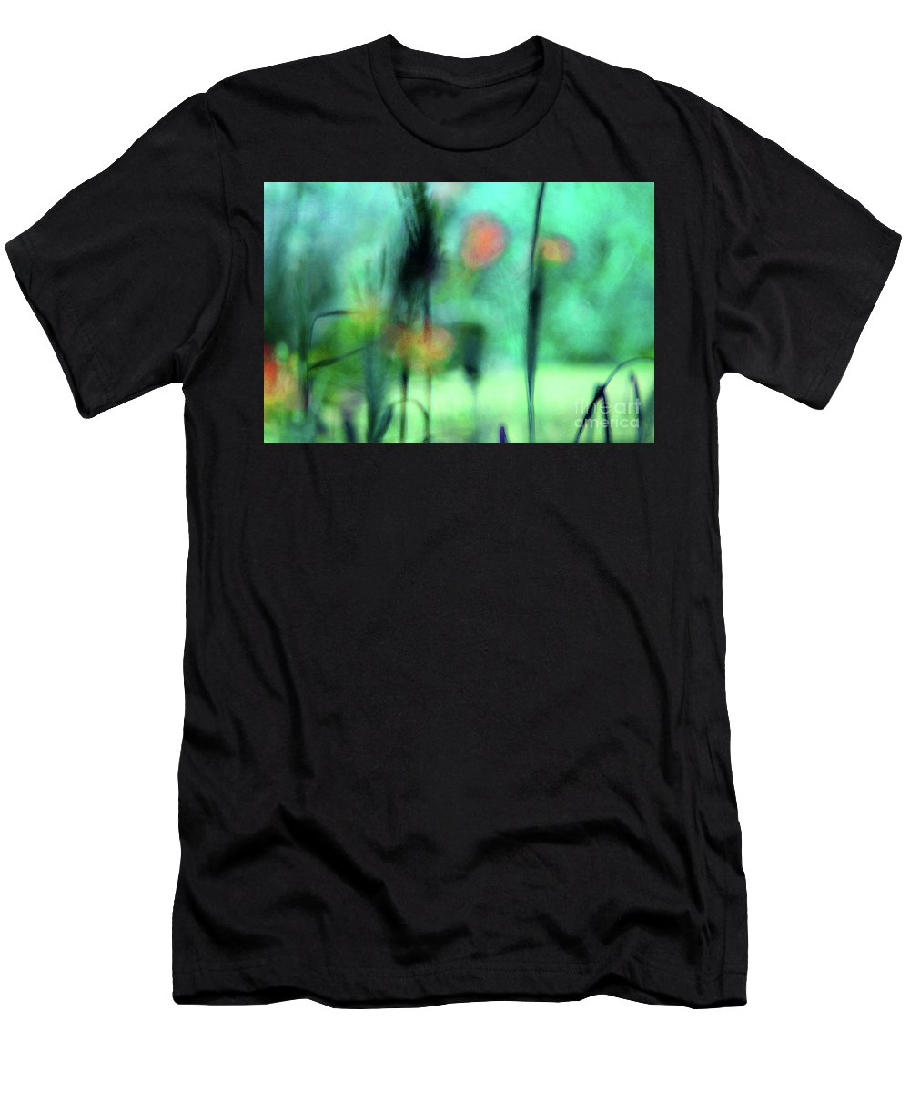 Nature Men's T-Shirt (Athletic Fit) featuring the photograph Summer Dreams Abstract by Karen Adams