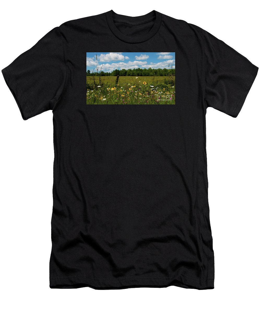 Festblues Men's T-Shirt (Athletic Fit) featuring the photograph Summer Dreams... by Nina Stavlund