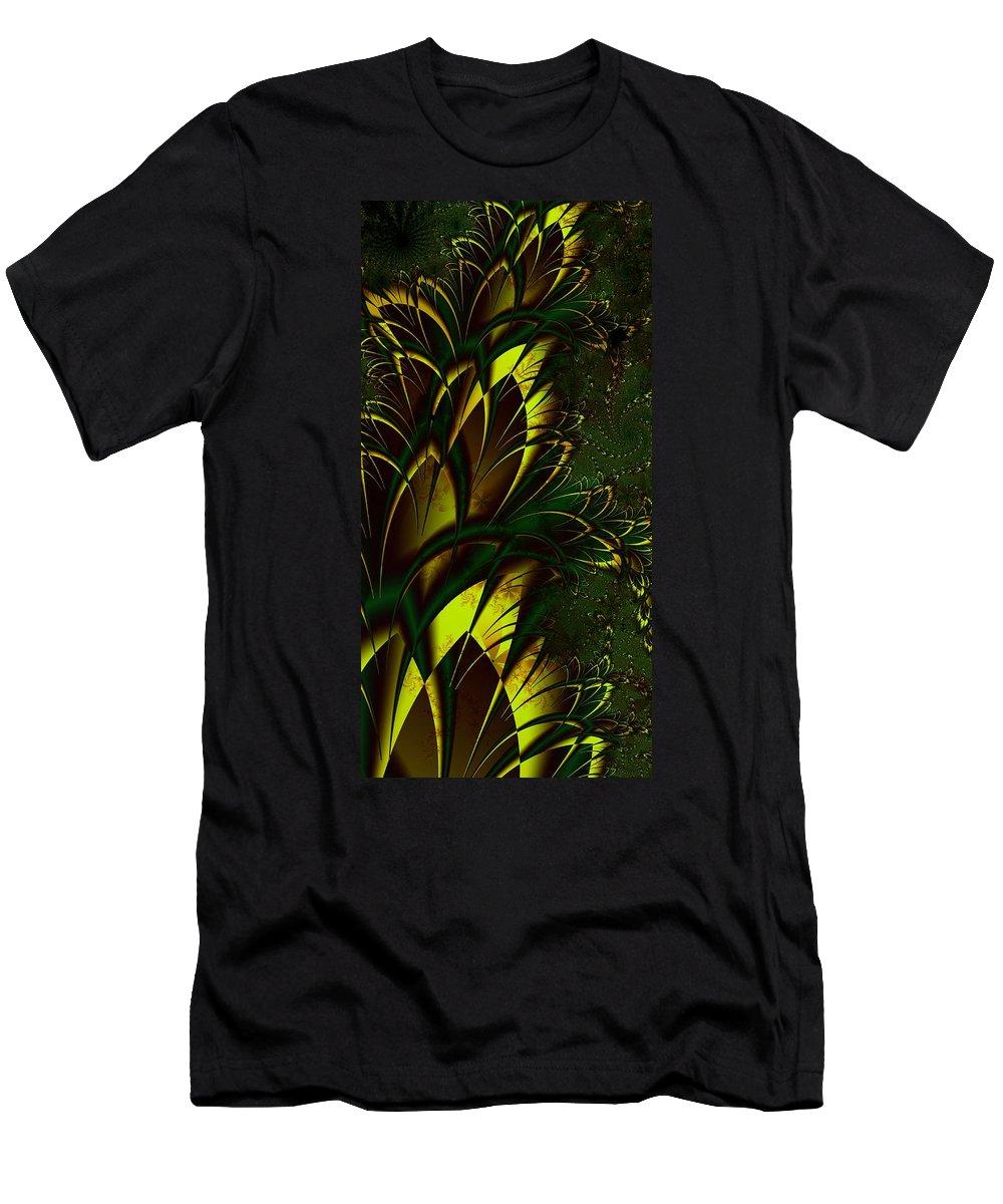 Digital Art T-Shirt featuring the digital art Summer Frenzy by Amanda Moore
