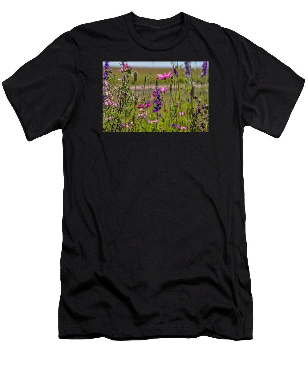 Flowers T-Shirt featuring the photograph Summer Garden by Alana Thrower