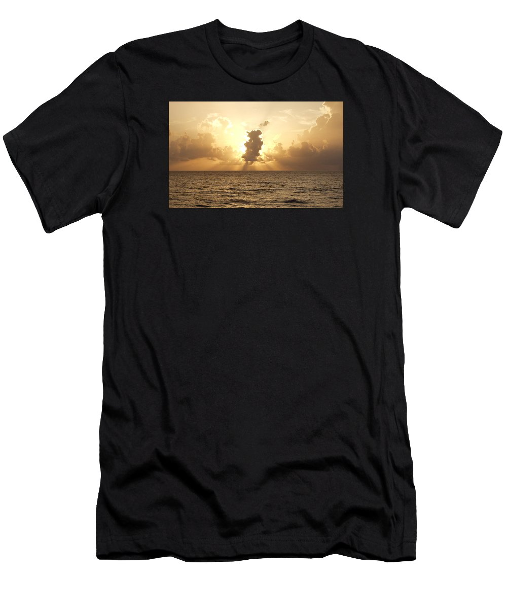 Sun Men's T-Shirt (Athletic Fit) featuring the photograph Sunblock by Bruce Roker
