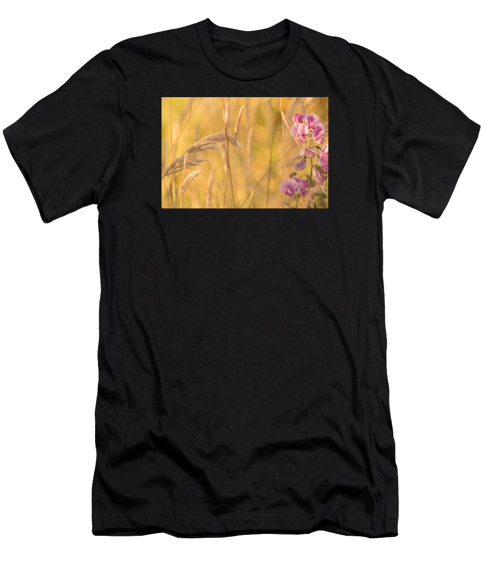 Garden Photo Men's T-Shirt (Athletic Fit) featuring the photograph Sunny Garden 2 by Bonnie Bruno