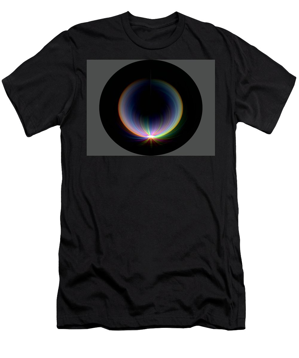 Sunrise Men's T-Shirt (Athletic Fit) featuring the digital art Sunrise At 30k 1 by Tim Allen