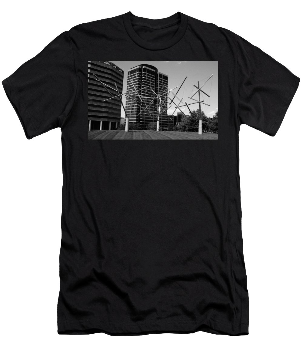 Metal Men's T-Shirt (Athletic Fit) featuring the photograph Suspended by Angus Hooper Iii