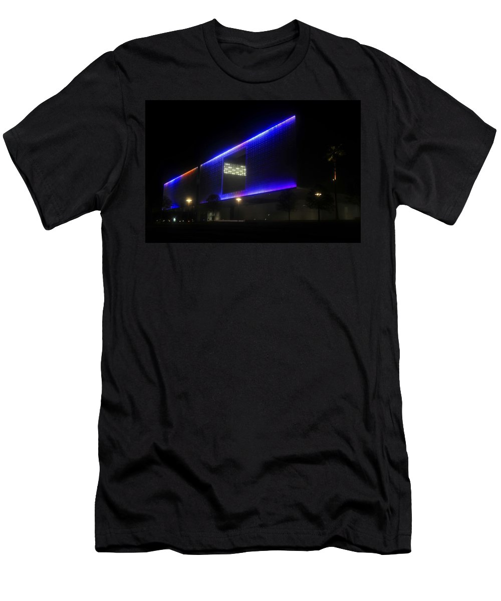 Tampa Museum Of Art T-Shirt featuring the photograph Tampa Architecture by David Lee Thompson
