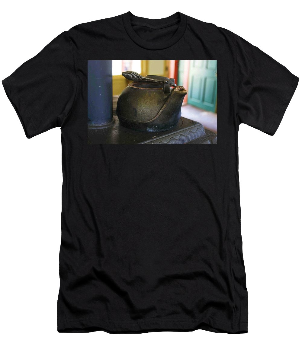 Tea Kettle Men's T-Shirt (Athletic Fit) featuring the photograph Tea Kettle by Nelson Strong