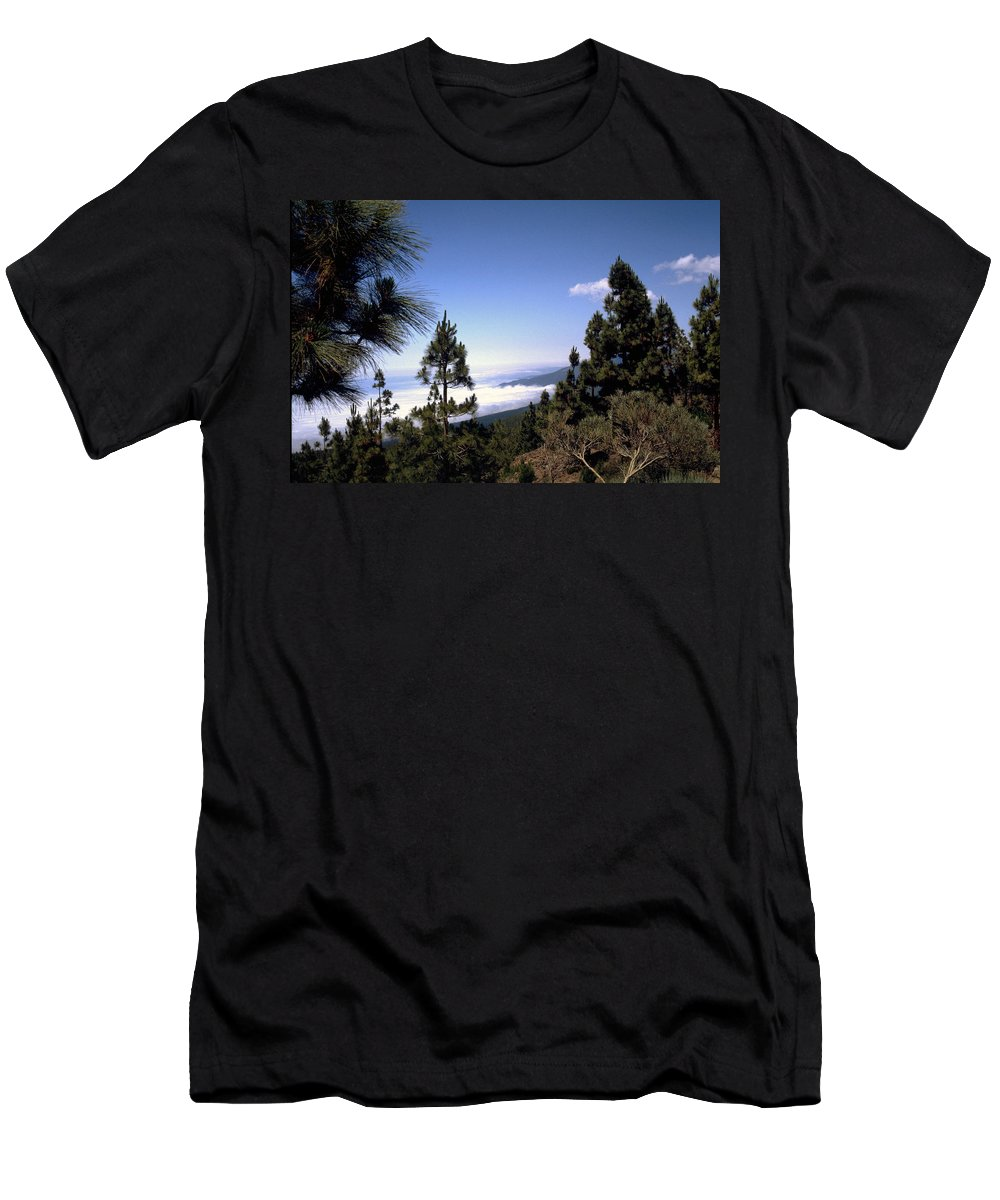 Tenerife Men's T-Shirt (Athletic Fit) featuring the photograph Tenerife by Flavia Westerwelle