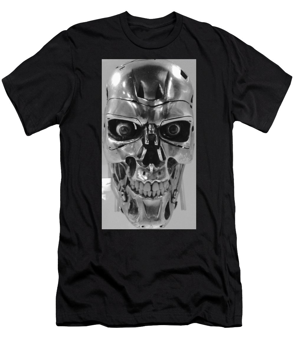 Metal Men's T-Shirt (Athletic Fit) featuring the photograph Terminator by Charla Dury