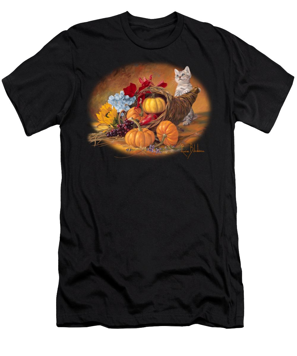 Thanksgiving Paintings T-Shirts