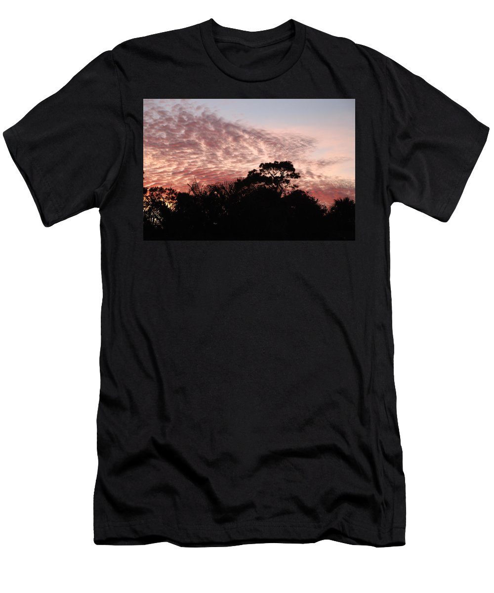 Sky Men's T-Shirt (Athletic Fit) featuring the photograph Thanksgiving Sky by Rob Hans