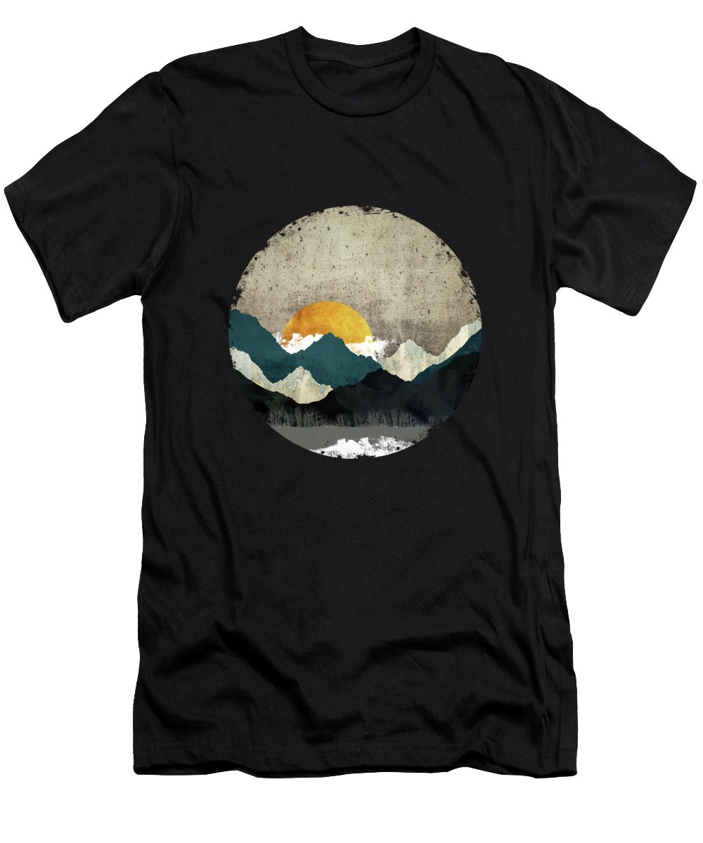 Thaw T-Shirt featuring the digital art Thaw by Katherine Smit