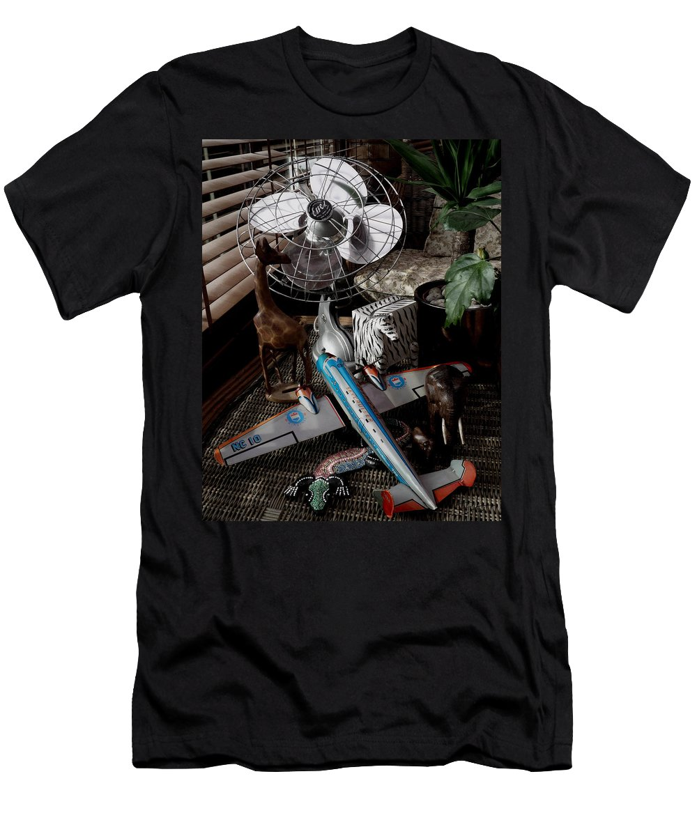 Still Life Men's T-Shirt (Athletic Fit) featuring the photograph The African Fantasy by Charles Stuart