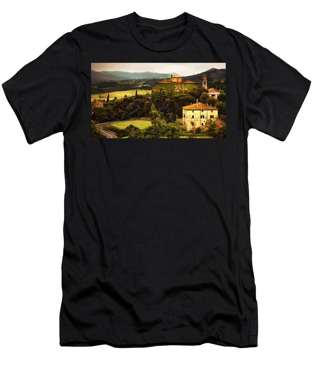 Italy Men's T-Shirt (Athletic Fit) featuring the photograph The Best Of Italy by Marilyn Hunt