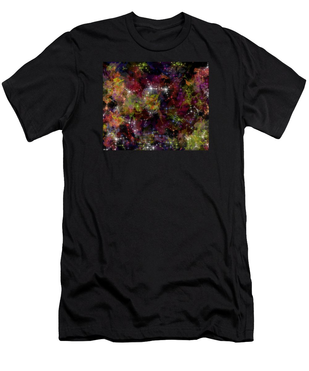 The Big Bang Men's T-Shirt (Athletic Fit) featuring the digital art The Big Bang-100 Million Years by Mannzie