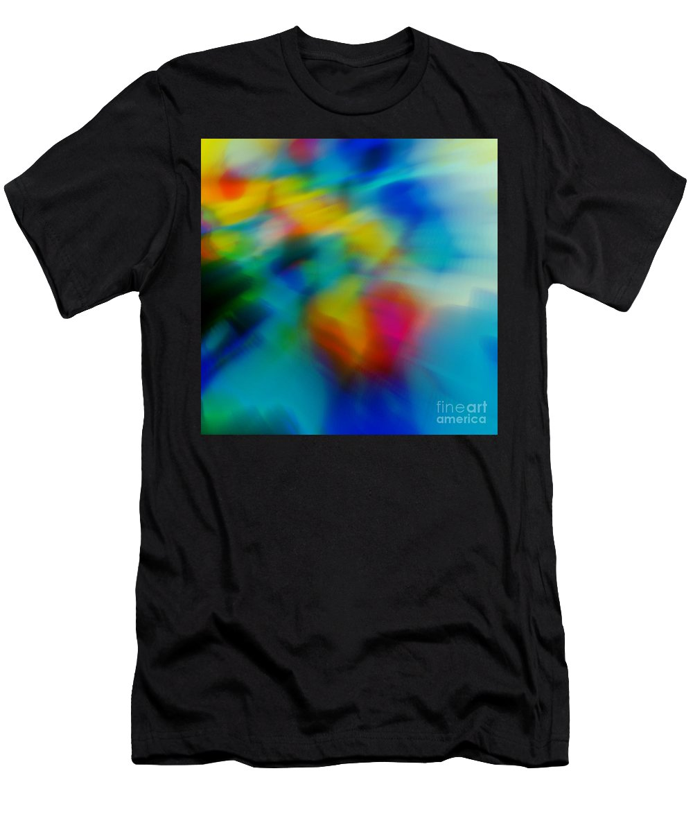 Abstract T-Shirt featuring the painting The Blossom Within by Wbk