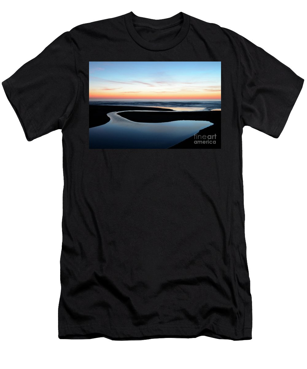 Beach Men's T-Shirt (Athletic Fit) featuring the photograph The Blue Zone California by Bob Christopher