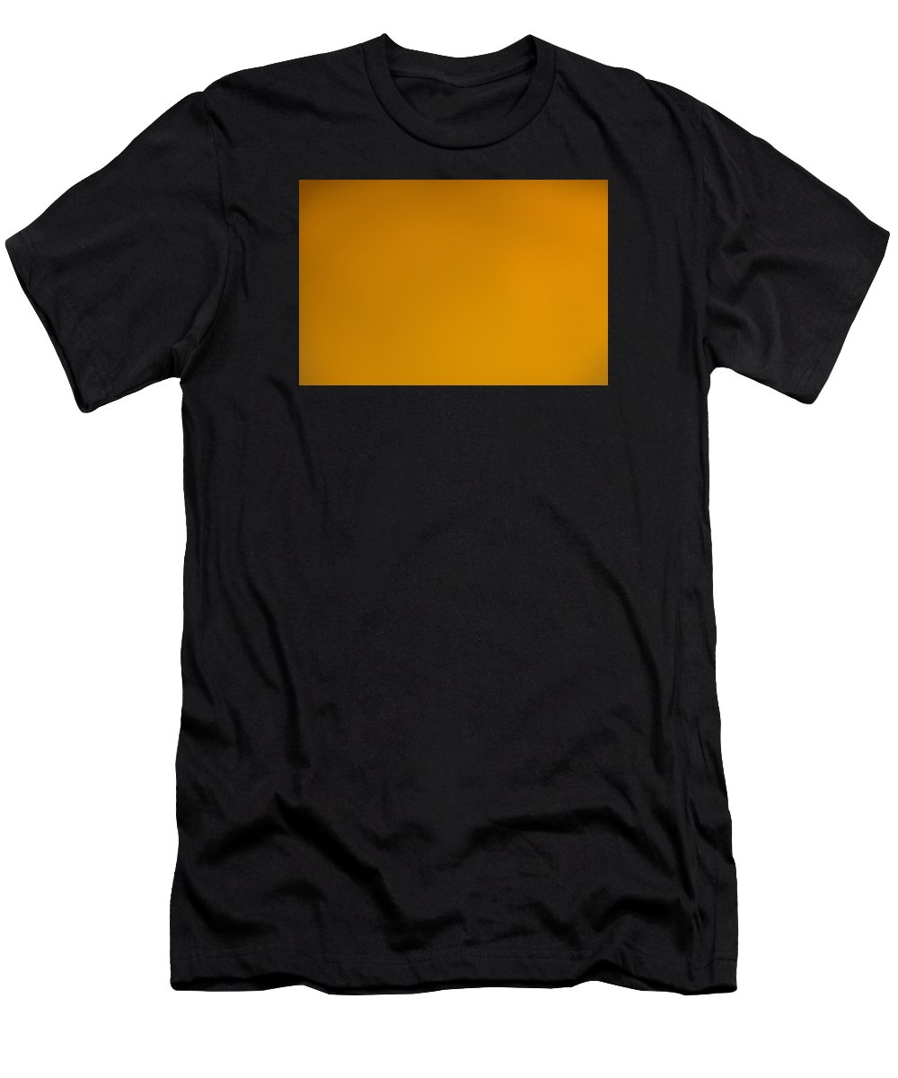 Yellow Men's T-Shirt (Athletic Fit) featuring the photograph The Color Of Rust by Wanda Krack