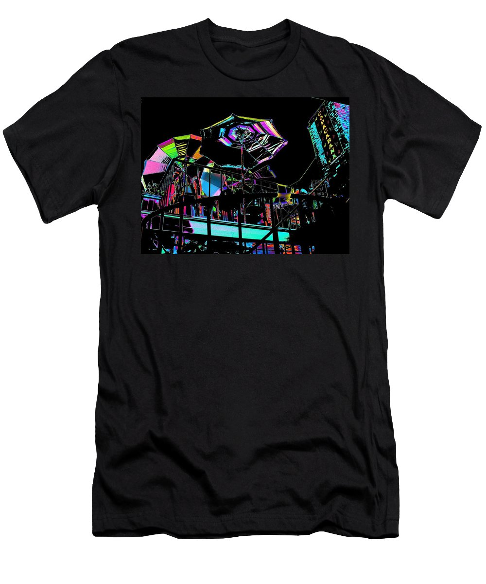 Seattle Men's T-Shirt (Athletic Fit) featuring the digital art The Copacabana by Tim Allen
