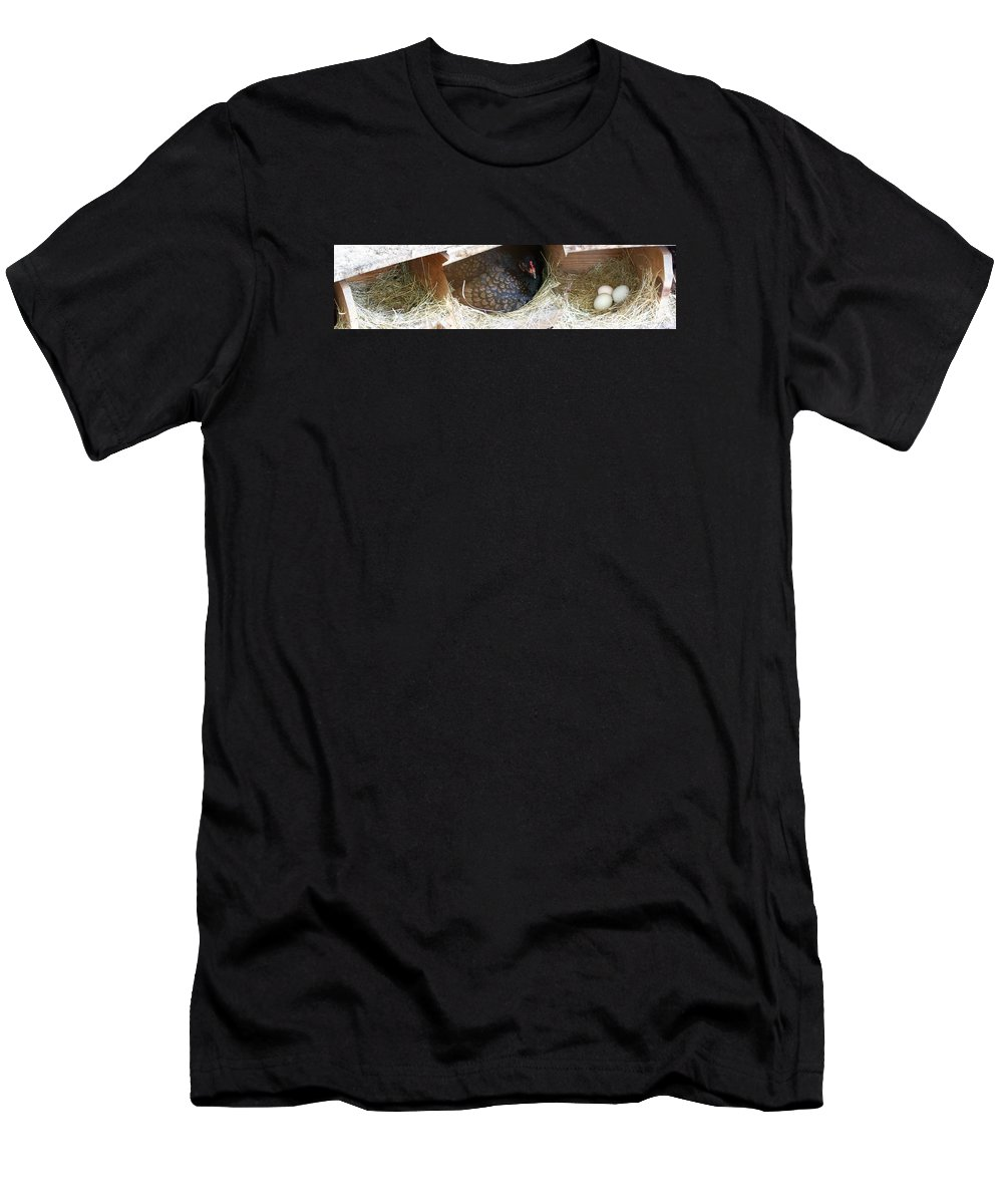 Digital Photography Artwork Men's T-Shirt (Athletic Fit) featuring the photograph The Coup by Laurie Kidd