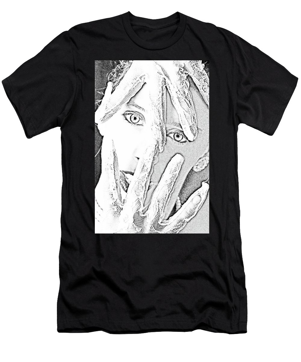 Heroin Men's T-Shirt (Athletic Fit) featuring the photograph The Crisis by Robert Magnus