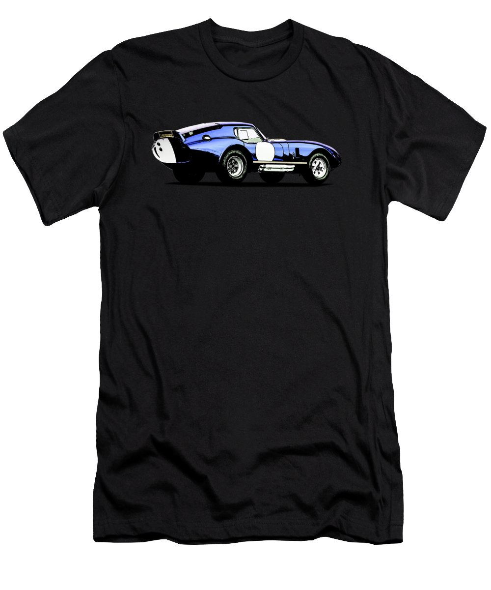 Cobra Daytona Men's T-Shirt (Athletic Fit) featuring the photograph The Daytona by Mark Rogan