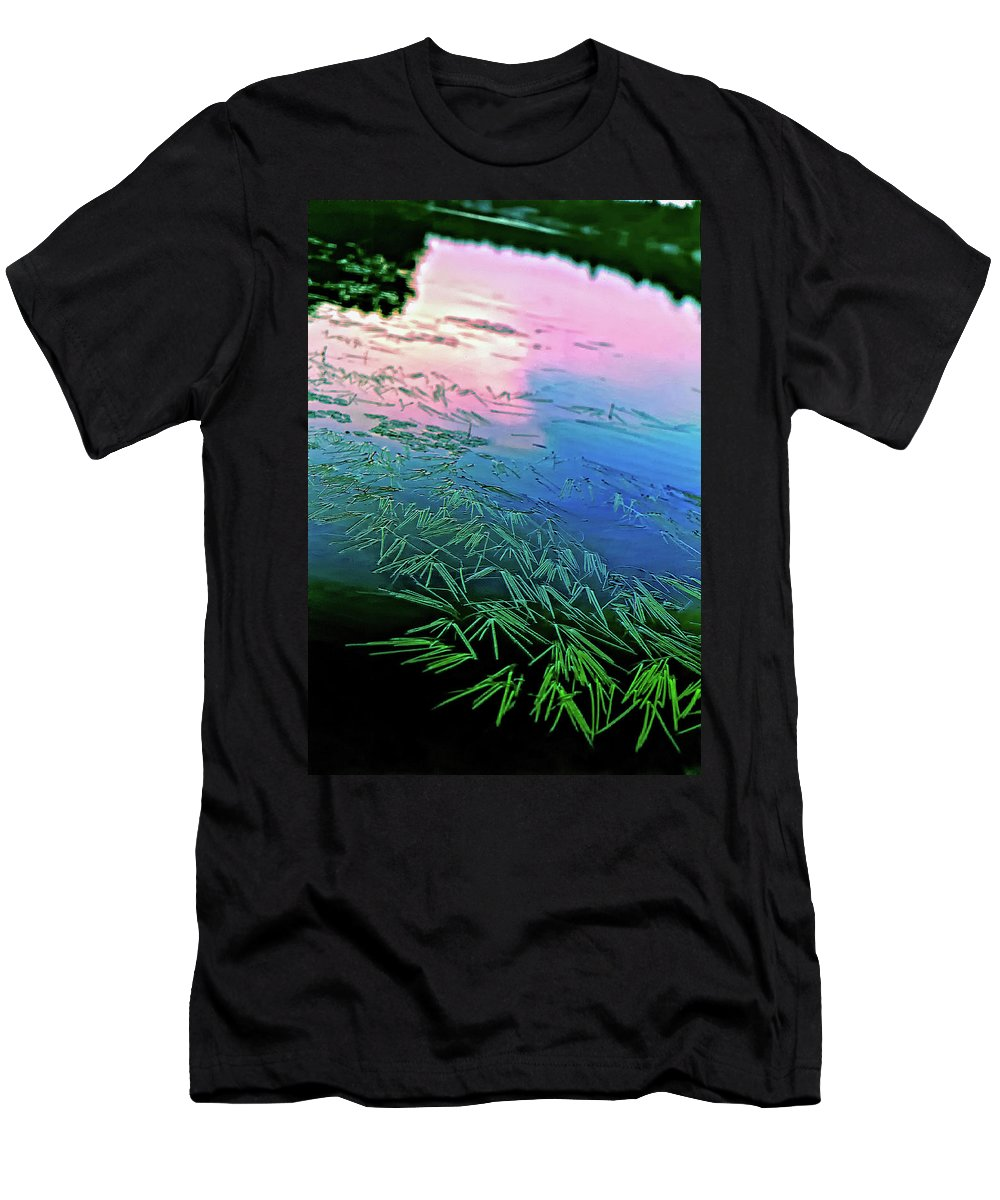 Wilderness Men's T-Shirt (Athletic Fit) featuring the photograph The Flow by Steve Harrington