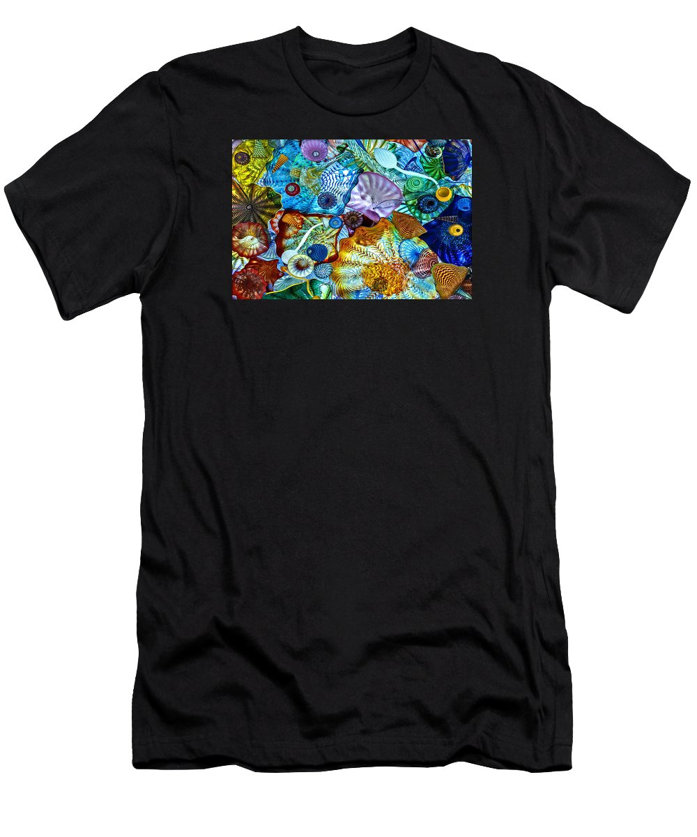 The Glass Ceiling Men's T-Shirt (Athletic Fit) featuring the photograph The Glass Ceiling by Wes and Dotty Weber