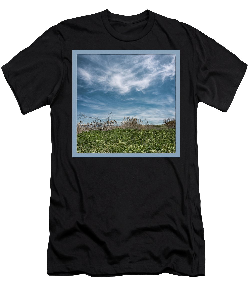 Utah Men's T-Shirt (Athletic Fit) featuring the photograph The Gnat Festival by Robert Fawcett