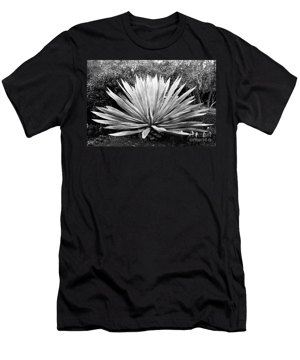 Agave Men's T-Shirt (Athletic Fit) featuring the photograph The Great Agave by David Lee Thompson