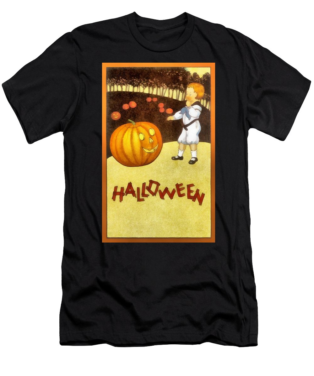 Unknown Men's T-Shirt (Athletic Fit) featuring the photograph The Great Pumpkin by Unknown
