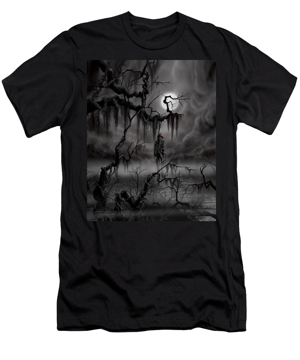 Nightmare T-Shirt featuring the painting The Hangman by James Christopher Hill