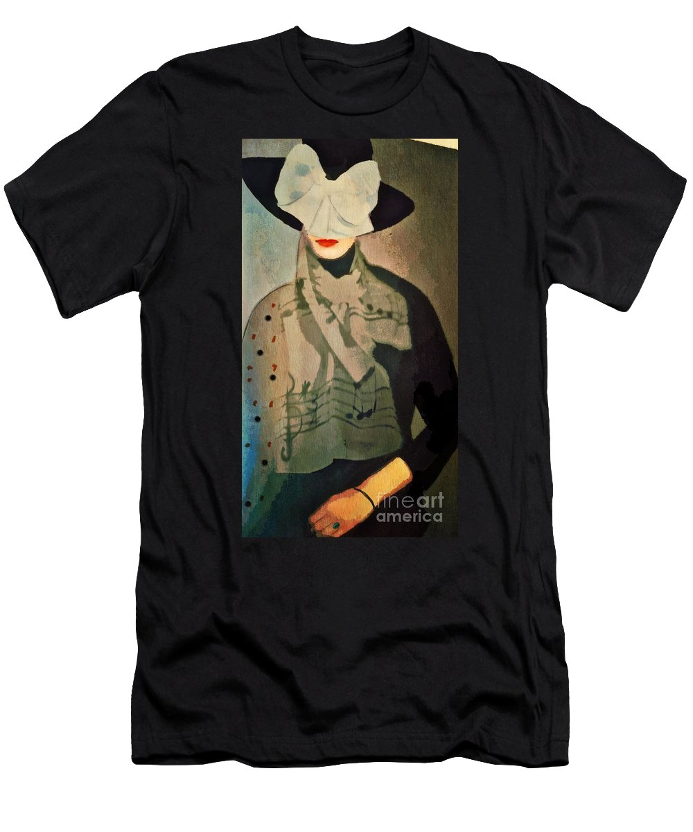 Hat Men's T-Shirt (Athletic Fit) featuring the digital art The Hat by Alexis Rotella