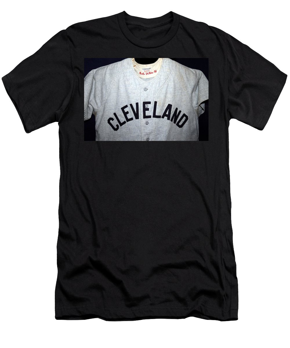 Bob Feller Men's T-Shirt (Athletic Fit) featuring the photograph The Heater From Van Meter by Christopher Miles Carter