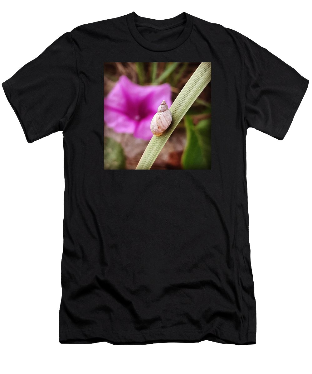Men's T-Shirt (Athletic Fit) featuring the photograph The Little Things by Jennifer Andrighetti