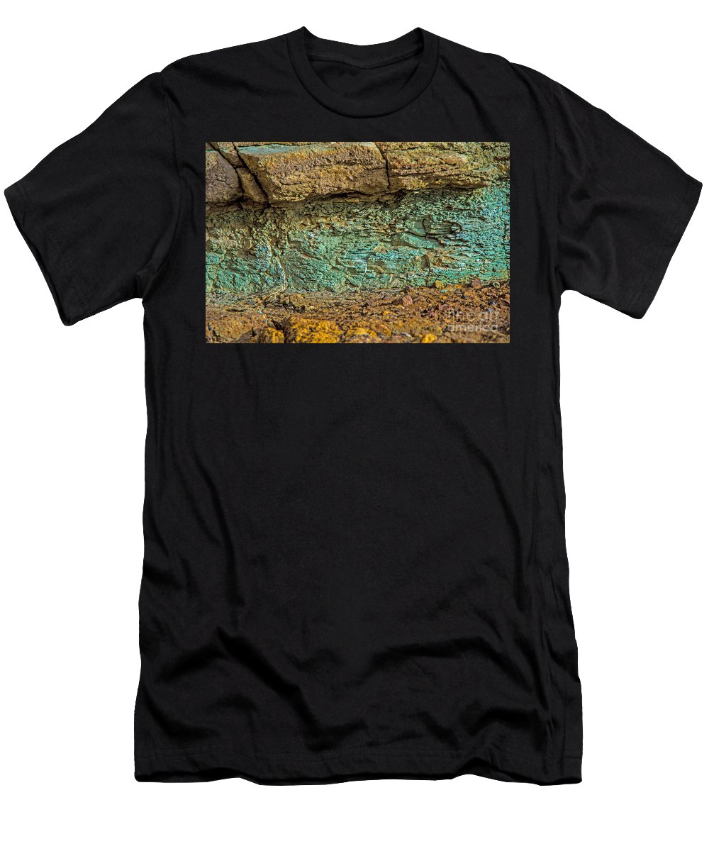 Layers Men's T-Shirt (Athletic Fit) featuring the photograph The Minerals by Stephen Whalen