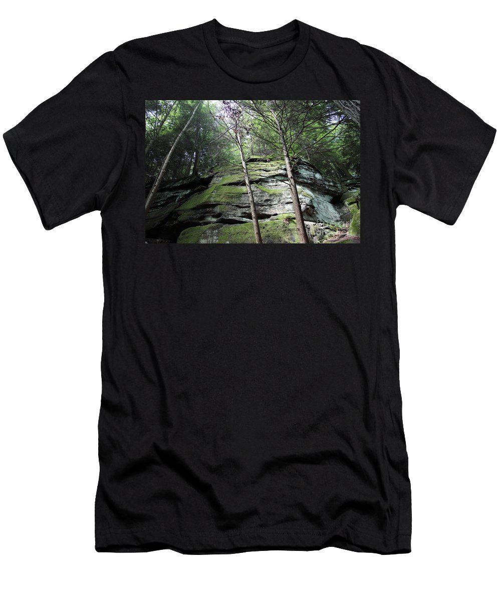 Nature Men's T-Shirt (Athletic Fit) featuring the photograph The Original My Space by Amanda Barcon