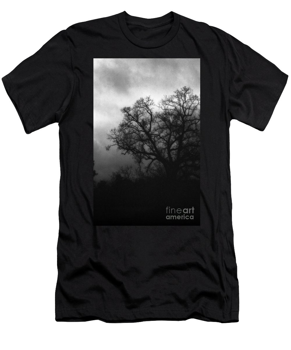 Eerie Men's T-Shirt (Athletic Fit) featuring the photograph The Other Side by Richard Rizzo