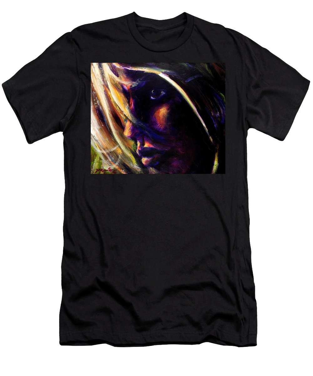 Acrylic Men's T-Shirt (Athletic Fit) featuring the painting The Past Is Gone by Jason Reinhardt