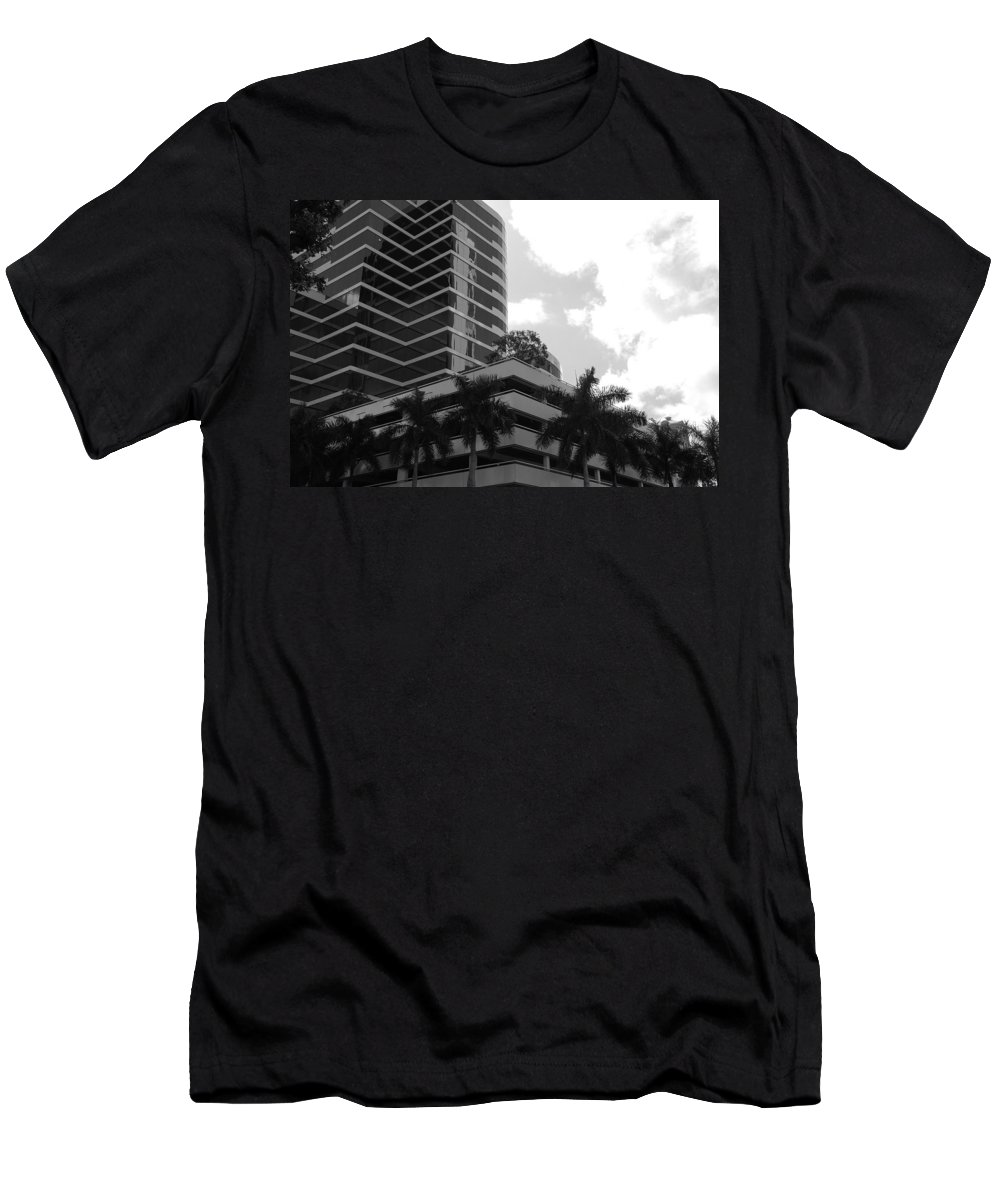 Architecture Men's T-Shirt (Athletic Fit) featuring the photograph The Place To Be by Rob Hans