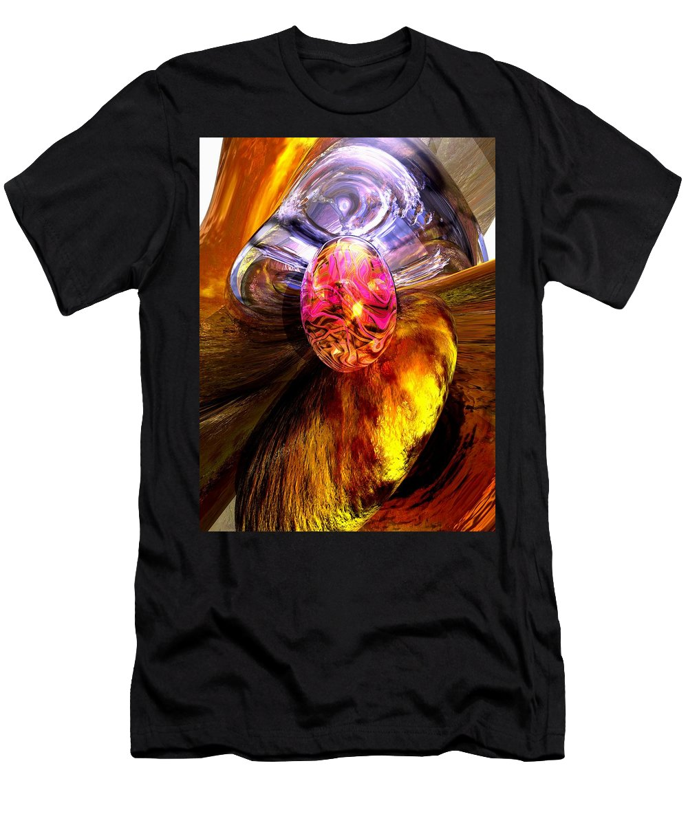 3d Men's T-Shirt (Athletic Fit) featuring the digital art The Pleasure Palace by Alexander Butler