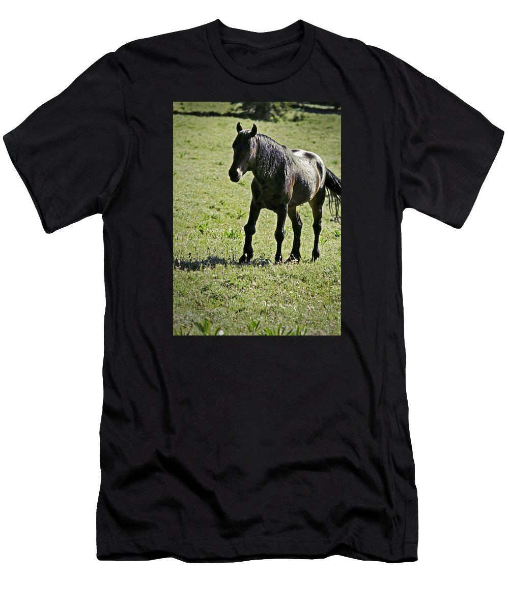 Injury Men's T-Shirt (Athletic Fit) featuring the photograph The Price Of War by Richard Rivard