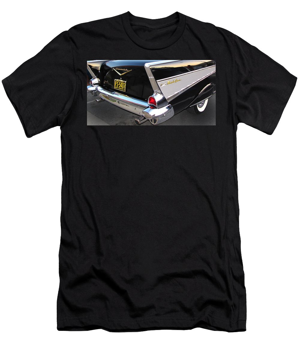 Cars Men's T-Shirt (Athletic Fit) featuring the photograph The Prince Of Bel Air by Gary Adkins